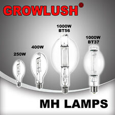 Growlush MH elliptical Lamps for Hydroponics 250/400/1000W Growlight