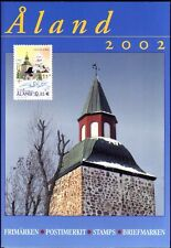 Aland Island Finland Official Åland Complete Mint MNH Stamp Year Set 2002