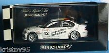 BMW 320i #42 ETCC MAGNY COURS 2003 DOUBLE WINNER MULLER 1/43 MINICHAMPS
