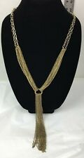 Gold Colored Chain Necklace Costume Jewelry