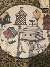 Gallery Graphics Debbie Mumm Bird House Flue Cover
