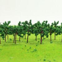 D3513 100pcs Scale N Train Layout Set Model Trees 35mm 1:150