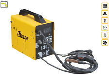 MIG  WELDER  130  AMP  PRICE INCLUDES VAT GASLESS MIG WELDER FLUX CORE