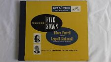 "Wagner ""Five Songs"" RCA Victor Set #DM 1233 Autographed by Eileen Farrell"