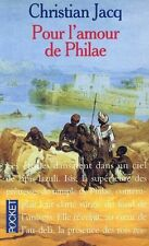 Pour l'amour de Philae.Christian JACQ.Pocket H003