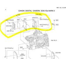 CF SD PCB Ass'y - Canon 1D mark II, 1D mark IIN, 1Ds mark II,