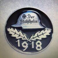 German Helmet Iron Cross Oak Leaf Badge WW1 WW11