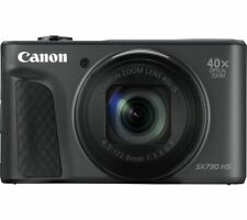 CANON PowerShot SX730 HS Superzoom Compact Camera - Black - Currys