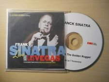 FRANK SINATRA : LIVE FROM LAS VEGAS *ACETATE RARE FRENCH PROMO* [ CD ALBUM ]