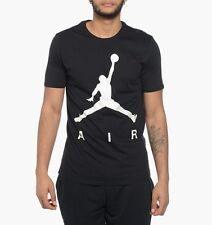 Nike Air Jordan Jumpman Pearlescent Tee Mens 683301-010 Black Tee Size L  ***