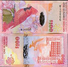 BERMUDA - 100 $ issue 2009 - Onion prefix - UNC