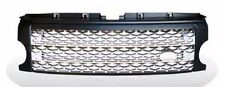 LR3 05-09 Discovery 3 Honeycomb Mesh Front Grille Land Rover L319 Black & Silver