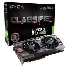 Schede video e grafiche NVIDIA GeForce GTX 1080 per prodotti informatici Linux GDDR 5