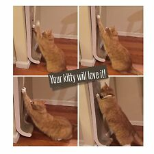GO SCRATCH Cat Scratching Post Wall Mounted Best for Cats to Scratch 100% Pre...
