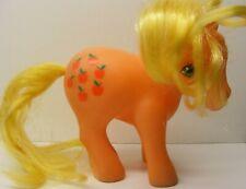 My Little Pony mlp vintage G1 earth ponies peach APPLEJACK, 1983