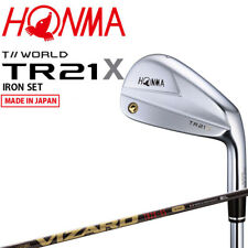 Honma Golf Japan TOUR WORLD TR21 X Iron set #6,7,8,9,10 VIZARD TR20-65 2021c