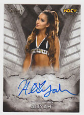 ALIYAH 2016 Topps WWE NXT On-Card Auto #D /99 Online Exclusive QTY