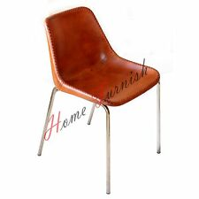 Vintage Style Leather Chair Leather Office Chair Dining Chairs Living Room Chair