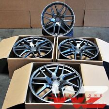 "22"" Mesh Wheels For Mercedes GL550 R350 ML350 ML500 ML550 22X10 5X112 Rims Set 4"
