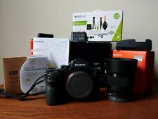 Sony A7Rii Digital Camera + Sony 50mm Lens (New) Bundle! +Accessories include