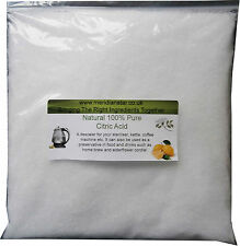 Citric Acid 500g Sterilizers Bath Bombs Elderflower Kettles Remove Limescale