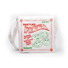 Officiel Teenage Mutant Ninja Turtles Pizza Box Blanc Sac messenger (NEUF)