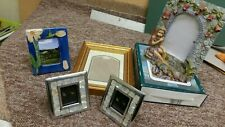 Five Small Decorative Photo / Picture Frames one with double mount.