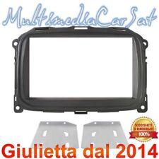 Mascherina Doppio Din Autoradio Cornice Alfa Romeo Giulietta dal 2014 3688