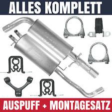 Schalldämpferset für Audi A3 8L (07/96-12/03) 1.8 T AUM