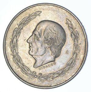 SILVER - WORLD COIN - 1952 Mexico 5 Pesos - World Silver Coin *295