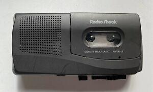 Tandy Radio Shack Micro Cassette Voice Recorder Micro-84