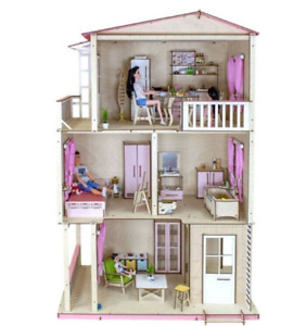 Barbie Dollhouse Scale 1:6 | Dollhouse miniature | DIY Dollhouse kit