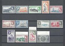 BARBADOS 1953-61 SG 289/301 MNH Cat £75