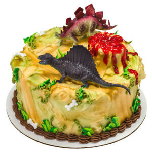 1 Dinosaur Pals Decoset Dino Cake Topper 2 Pc Figure Figurine Toy Set Decoration