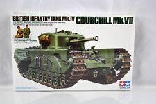 Tamiya Model Kit #35210 Churchhill Mk VII  British Tank Quick ship