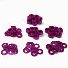 10/20/50/100PCS M3 Round Aluminum Alloy Flat Spacer Washer Gasket Ring For RC