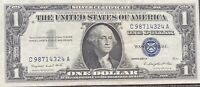 USA 1 Dollar 1957 A Silver Certificate One Banknote Schein Gute Erhaltung #21984