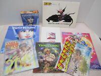 LOT OF 9 JAPANESE ANIME CALENDARS TASCHEN DIGITAL BEAUTIES 2003 2001 YOSHITAKA