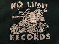 Rare Master P No Limit Tour Shirt Sz XXL Rap Hip Hop East Coast Gangster Tupac