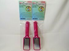 LOT 2X Mr Pumice METAL FOOT FILE Safe Remove Pedicure Callus mini Plate Remover