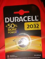 1 X Blister Duracell batteria lithium DL/CR 2032 3V(Validita' 2027)