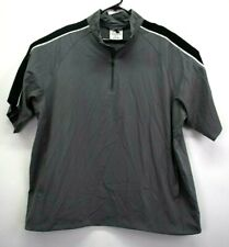 Augusta Sportswear Mens Large 1/4 Zip Short Sleeve...