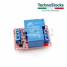 Modulo 1 Relè 12V Carichi fino 250V 30A - Relay Module Arduino  SLA-12VDC-SL-C