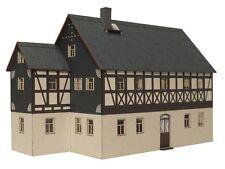 Beckert 04-08-TT Fachwerkhaus Erzgebirge mit kleinem Anbau - Steinbach