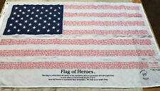 3x5 September 11th - Flag of Heroes - Poly/Cotton Flag Banner - Annin