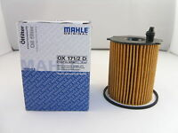 Ford 1.5 1.6 TDCI Diesel Oil Filter *GENUINE MAHLE OE OX171/2D*