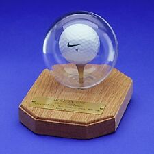 HOLE-IN-ONE  DESK DISPLAY  (SOLID OAK)