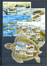SAO TOME AND PRINCIPE 2012 WWF  TURTLES  MNH