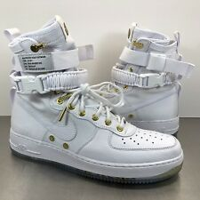 Nike SF AF1 LNY QS Chinese Lunar New Year White Gold AO9385-100 Men's Size 10