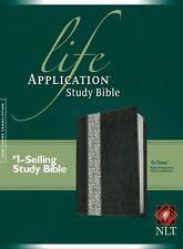 Life Application Study Bible NLT, Tutone (2016, Imitation Leather)